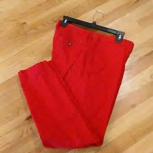 Tommy H Flat front chinos